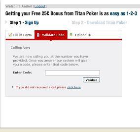 titan poker free no deposit bonus